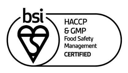 mark of trust certified HACCP GMP Food Safety Management logo En GB 0420