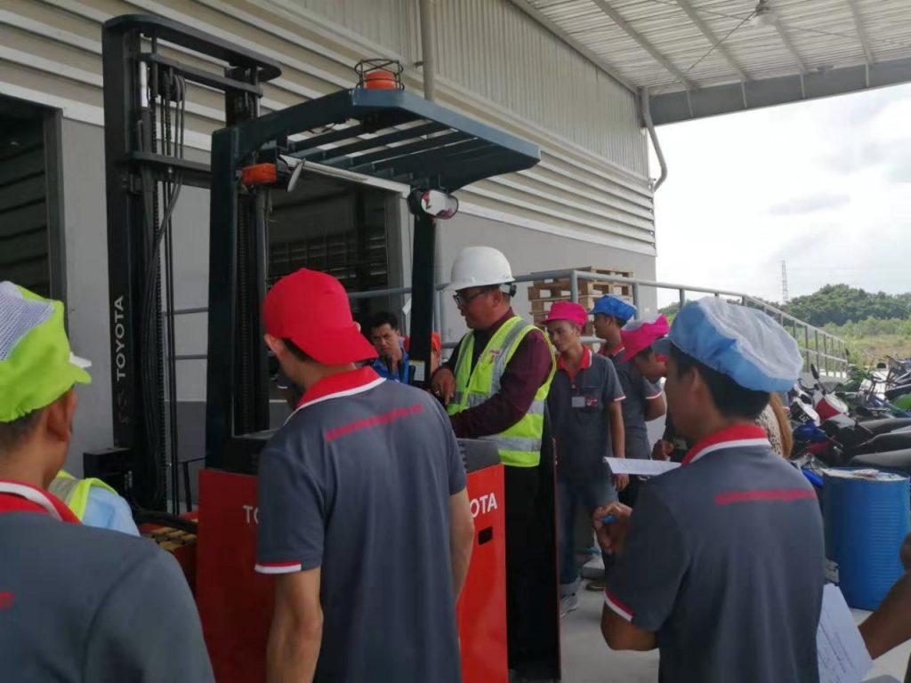 Training Forklift skill 09 September 2019 2